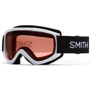 Smith Optics CS3EWT16 Medium Fit Cascade Adult Snow Goggles White Frame RC36 Lens | Focus Camera