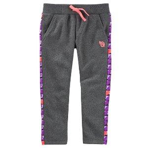 Toddler Girl Slim-fit Heart Active Pants | OshKosh.com
