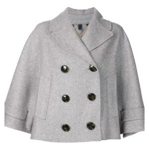 BURBERRY  wide sleeve crop jacket