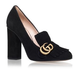 10% Off Gucci Marmont Fringed Loafer Heels