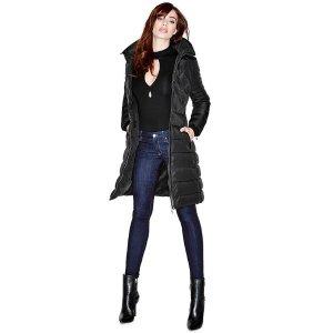 Savannah Long Puffer Jacket | GUESS by Marciano