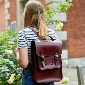 Damson Portrait Backpack | The Cambridge Satchel Company