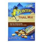 Planters 坚果巧克力混合零食7.5盎司(6袋装)