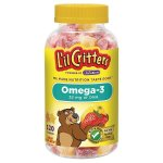 L'il Critters™ Omega 3 DHA Gummies, 2 Bottles @ Target