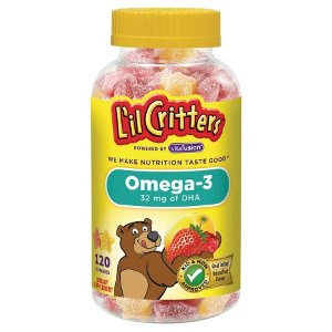 $12.98+Free $5 GC L'il Critters™ Omega 3 DHA Gummies, 2 Bottles @ Target