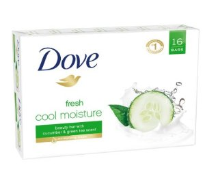 Dove go fresh Beauty Bar, Cool Moisture 4 oz, 16 Bar