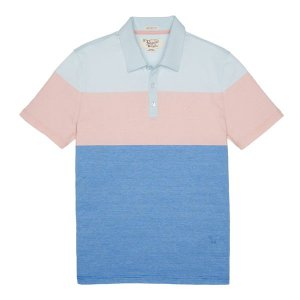 STRIPE COLORBLOCK POLO | Original Penguin