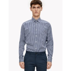 Stretch Cotton Gingham Shirt