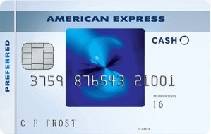 Earn Cash Back at U.S. Restaurants Terms ApplyBlue Cash Preferred® Card from American Express