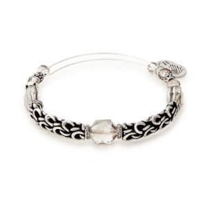 Winter Solace Enchanted Beaded Bangle