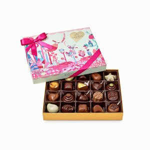 Valentine's Day Slices of Love Chocolate Gift Box, 20 pc. | GODIVA