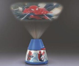 Philips 717694048 Disney Spider Man 2 in 1 Projector and Night Light, Blue