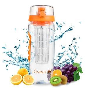 Large 32oz FruitInfusedWaterBottle-BPA-Free