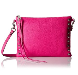$47.42 Rebecca Minkoff Jon Cross-Body with Studs Cross-Body Bag