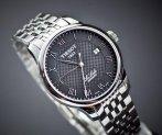 $379 Tissot Men's T41148353 Le Locle Black Dial Watch