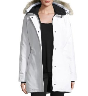 Up to $1200 Gift Card Canada Goose Victoria Fur-Hood Parka Jacket @ Neiman Marcus
