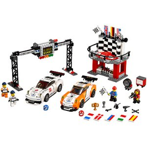LEGO Speed Champions Porche 911GT Finish Line (75912) - Toys