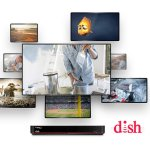 Base package + international add-on  @ Dish Network