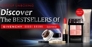 The Bestsellers OfGivenchy, Bobbi Brow, Laura Mercier @ Sasa.com