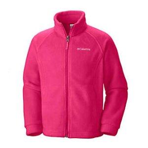 Girls Benton Springs Zip Up Fleece Jacket