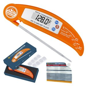 RISEPRO Digital Instant Read Cooking Thermometer Foldable