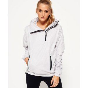 Superdry Gym Funnel Shell Hooded Jacket - Women's Jackets & Coats
