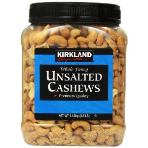 Kirkland Signature Cashews, Unsalted, 40 Oz | Jet.com