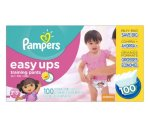 $14 Pampers Easy Ups Training Pants Diapers , Value Pack,