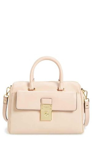 Ted Baker London 'Luggage Lock' Leather Satche
