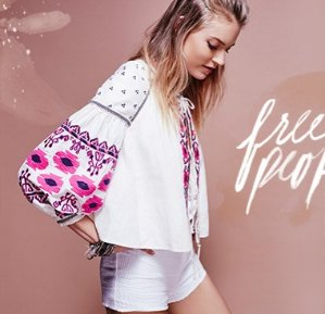 From $9.99 Free People Apparel @ Bloomingdales