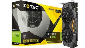 $529.73 ZOTAC GeForce GTX 1080 AMP! Edition