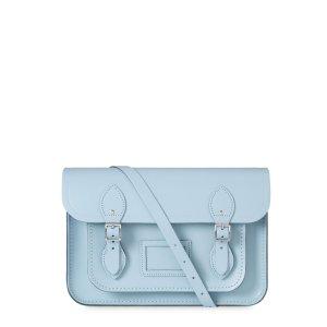 Periwinkle Blue 13 Inch Magnetic Satchel | The Cambridge Satchel Company