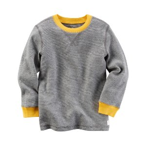 Kid Boy Long-Sleeve Thermal Tee | Carters.com