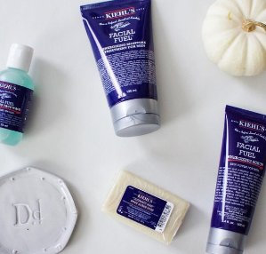 4 Deluxe Samples and A BagKiehl's Men's Skincare Sale