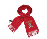 Unineed.com | MOSCHINO Big Teddy Bear Solid Fringed Wool Long Scarf - Special Offer - Premium beauty and fashion from Unineed.com