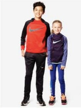 2016 Black Friday!  25% Off Select Nike Activewear for Kids, Reg $18-$50 @ macys.com