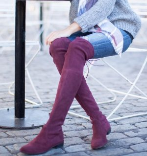 Get Up to $900 Giftcard with Stuart Weitzman Over the Knee Boots @ Saks Fifth Avenue