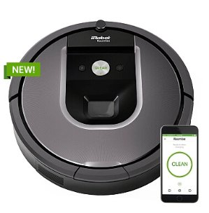 $699.99 iRobot Roomba 960 Vacuum Cleaning Robot