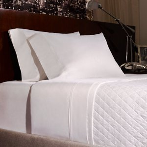 White Bedford Sateen Sheeting - Solid Sheets & Pillowcases � Sheets - RalphLauren.com