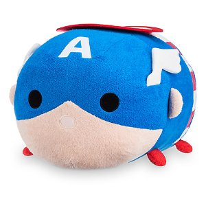 Captain America ''Tsum Tsum'' Plush - Large - 17'' | Disney Store
