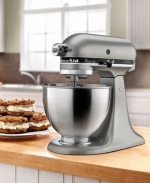 Pre-view! KitchenAid KSM75SL 4.5 Qt. Classic Plus Stand Mixer