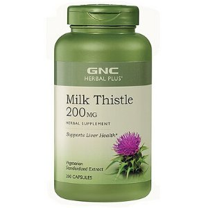GNC Herbal Plus® Milk Thistle 200 MG - 200ct