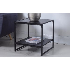 Cube Modern Square Side Table | Sofamania.com
