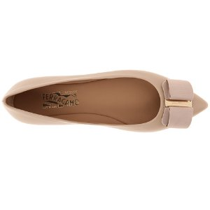 Salvatore Ferragamo Mimi New Bisque - Zappos Luxury
