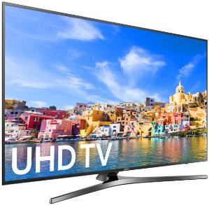 $1399.99Samsung 65 Inch 4K Ultra HD Smart TV UN65KU7000F UHD TV + $500 GC