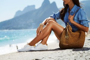 MICHAEL Michael Kors 'The Jet Set 6 - Irving' Leather Sneaker