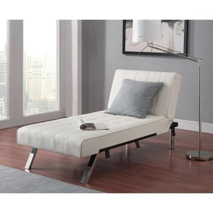 $139Emily Futon Chaise Lounger, Multiple Colors