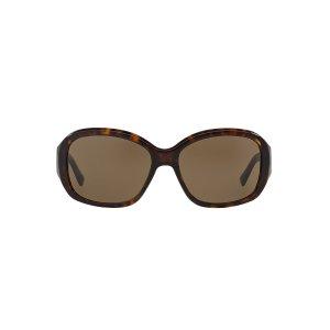 Prada PR 31NS 58 Brown & Brown Sunglasses | Sunglass Hut USA