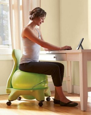 $59.98 Gaiam Balance Ball Chairs
