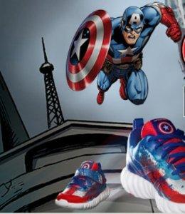 Buy 1 Get 1 Free Marvel Avengers Kids Footwear @ Reebok